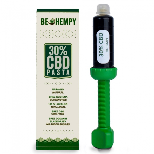 Be Hempy Hemp Paste 30% Πάστα κάνναβης 1500mg CBD 5ml