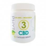 Phyto+ 3% CBD Organic Κάψουλες 300mg 30Caps των 10mg