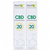 Phyto+ RAW Hemp Oil Paste 20% Πάστα CBD 2 Pack x 10gr