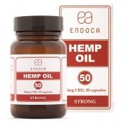 Endoca Κάψουλες Hemp Oil 1500mg CBD 30caps των 50mg