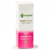 Trompetol Rose & Geranium Oil Face Hemp Cream 40ml