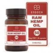 Endoca Κάψουλες RAW Hemp Oil 1500mg CBD + CBDa 30caps των 50mg