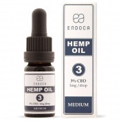 Endoca Hemp Oil Drops 300mg CBD 3% 10ml