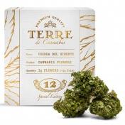 Terre di Cannabis Fredda del Sirente 12% CBD Ανθοί Κάνναβης 3gr