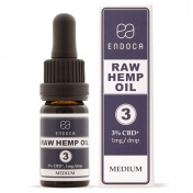 Endoca RAW Hemp Oil Drops 300mg CBD + CBDa (3%) 10ml