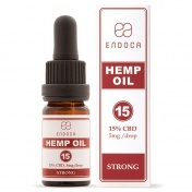 Endoca Hemp Oil Drops 1500mg CBD 15% 10ml