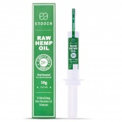 Endoca RAW Hemp Oil Πάστα 2000mg CBD + CBDa (20%) 10gr