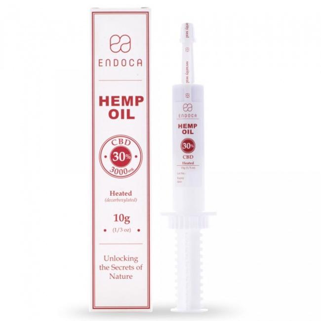 Endoca Hemp Oil Πάστα 3000mg CBD 30% 10gr