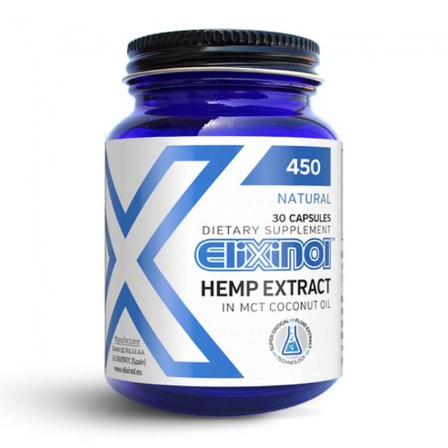 Elixinol CBD Κάψουλες 450mg 30caps