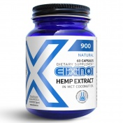 Elixinol CBD Κάψουλες 900mg 60caps
