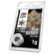 Plant of Life Blueberry 22% CBD Jelly 1gr