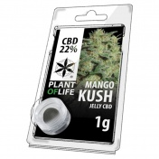 Plant of Life Mango Kush 22% CBD Jelly 1gr