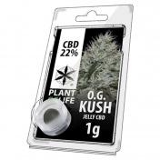 Plant of Life OG Kush 22% CBD Jelly 1gr