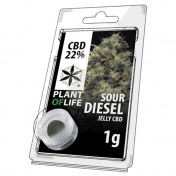 Plant of Life Sour Diesel 22% CBD Jelly 1gr