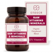 Endoca RAW Βιολογικές Βιταμίνες & Ιχνοστοιχεία σε σκόνη 86gr