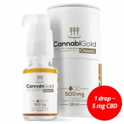 CannabiGold Classic 500 mg Natural CBD 12ml