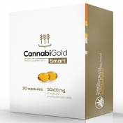 CannabiGold Smart Package 10mg Natural CBD x 30caps