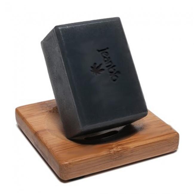Jeanbio Cannabis Black Soap Bar 100GR