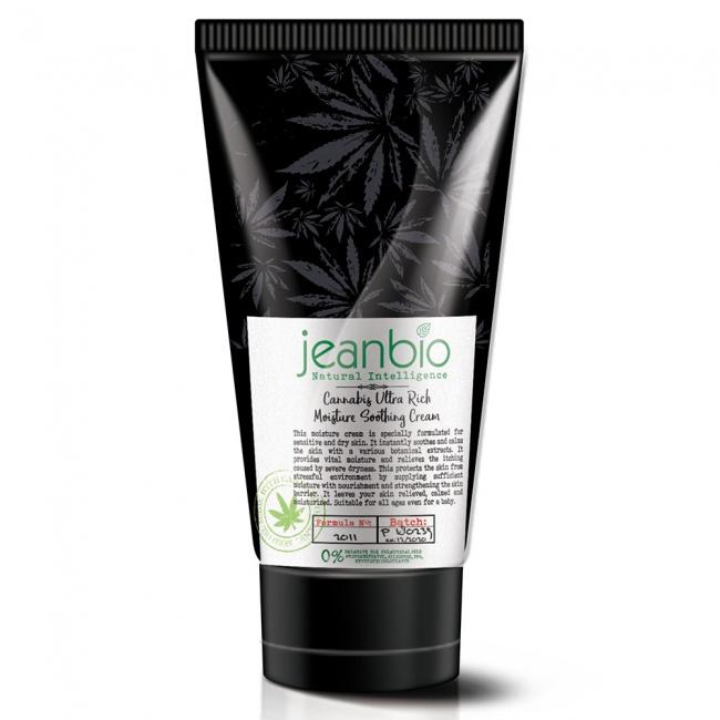 Jeanbio Cannabis Ultra Rich Moisture Soothing Cream 75ml