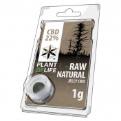 Plant of Life Raw Natural 22% CBD Jelly 1gr