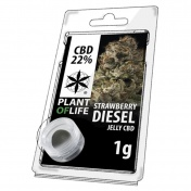 Plant of Life Strawberry Diesel 22% CBD Jelly 1gr