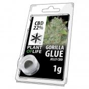 Plant of Life Gorilla Glue 22% CBD Jelly 1gr
