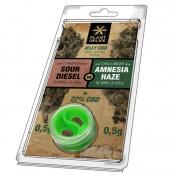 Plant of Life Sour Diesel VS Amnesia Haze 22% CBD Jelly 0,5gr + 0,5gr