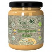 CBDGreece Canna Seasame Butter - Βούτυρο από Σπόρους Κάνναβης & Ταχίνι με Μέλι 350gr