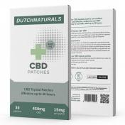Dutch Natural Healing CBD Patches 450mg - Έμπλαστρα με 15mg CBD/τμχ - 30τμχ