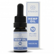 Endoca Hemp Oil Drops 1000mg CBD 10% 10ml