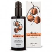 Endoca Face & Body Oil  300mg CBD 200ml