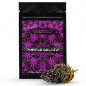 Canna-X Ανθοί Κάνναβης Purple Gelato 30% CBD Premium Series 2gr