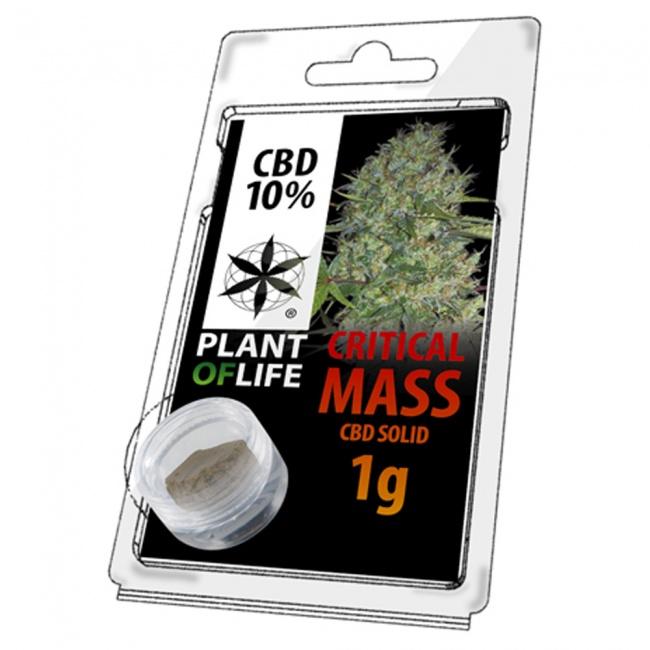 Plant Of Life Critical Mass 10% CBD Solid 1gr