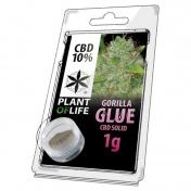 Plant Of Life Gorilla Glue 10% CBD Solid 1gr