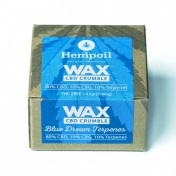 Hempoil Wax CBD Crumble Blue Dream Terpenes 500mg