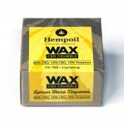 Hempoil Wax CBD Crumble Lemon Haze Terpenes 500mg