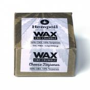 Hempoil Wax CBD Crumble Cheese Terpenes 500mg