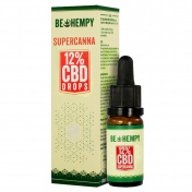 Be Hempy SuperCanna Hemp Oil Drops 1200mg CBD 12% 10ml