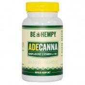 Be Hempy ADECanna Hemp Buds με Βιταμίνες A,D & E  60caps