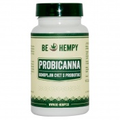 Be Hempy ProbiCanna Hemp Buds με Προβιοτικά 60caps